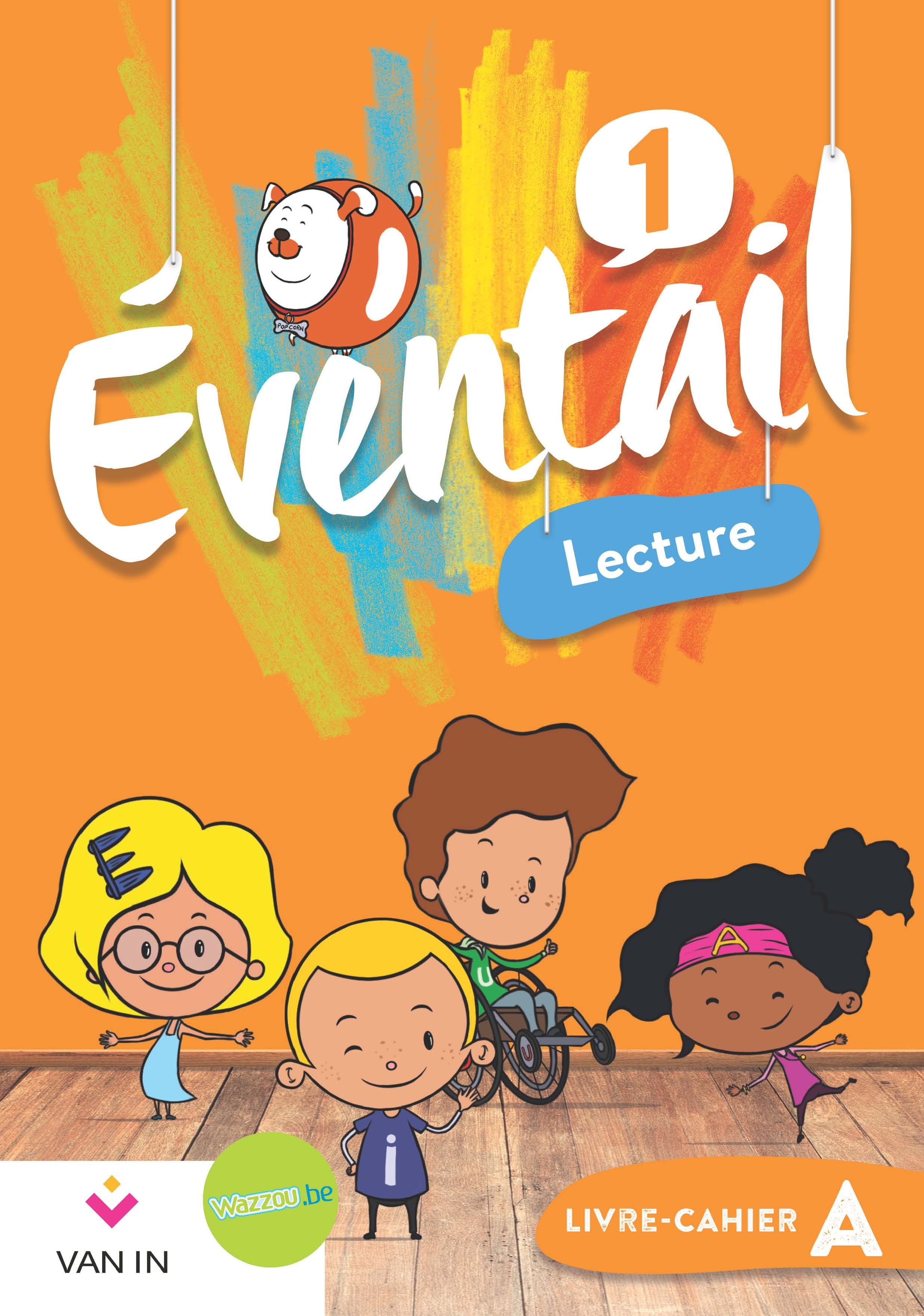 Eventail Lecture livre-cahier 1A